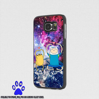 Galaxy Adventure Time Jake and Finn Design for iphone 4/4s/5/5s/5c/6/6+, Samsung S3/S4/S5/S6, iPad 2/3/4/Air/Mini, iPod 4/5, Samsung Note 3/4 Case * NP*