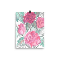 Poster Roses
