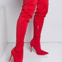 Avery Thigh High Boots 3 Colors