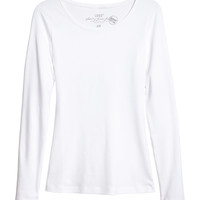 H&M - Long-sleeved Jersey Top
