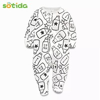 Baby Rompers Autumn Fashion Baby Boy Clothes Children Clothing Long-sleeve Striped Newborn Rompers Baby Jumpsuit