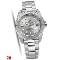 Rolex Newest Fashionable Women Men Quartz Watches Wristwatch 2#
