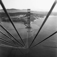 Construction of the Golden Gate Bridge Fine Art Print