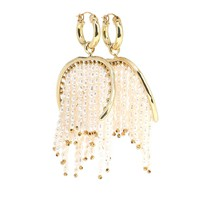 Emin fringe earrings