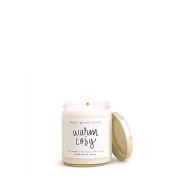 Warm & Cozy Soy Candle