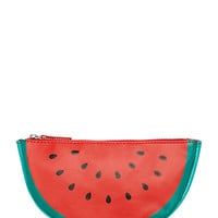 Watermelon-Shaped Cosmetic Case