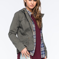 FULL TILT Twill Quilted Womens Anorak Jacket | Jackets