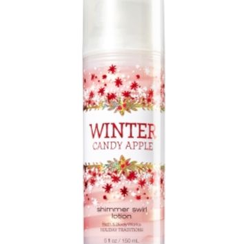 Shimmer Swirl Lotion Winter Candy Apple