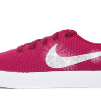 Nike Essentialist - Crystallized Swarovski Swoosh - Red