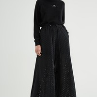 Laced Trousers | Black