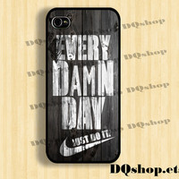 iPhone 5 Case Nike Just Do it  - iPhone 4 4s Case Rocky Balboa