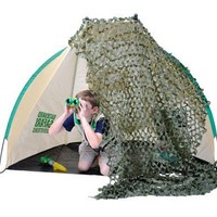 Backyard Safari Camouflage 5-Foot by 8-Foot Sheet