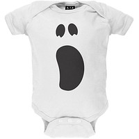 Halloween Ghost Face 2 Costume Baby One Piece