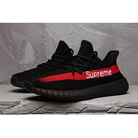 Adidas Yeezy Boost Black and red