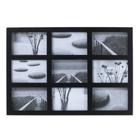 "Room Essentials® 9-Opening Collage Frame - Black Finish (4x6"")"