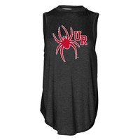 NCAA Richmond Spiders PPRCH08 Women's Cut-Out Back Tank Top