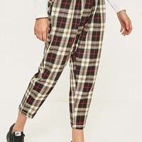 Urban Renewal Remnants Rupert Checked Trousers | Urban Outfitters