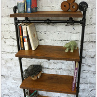 Hampton Reclaimed Wood Bookshelf