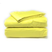 Tache Cotton Lemon Yellow Fitted Sheet (BS3PC-YY)