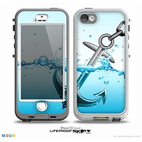 The Anchor Splashing Skin for the iPhone 5-5s NUUD LifeProof Case for the LifeProof Skin