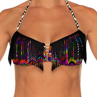 B Swim Party Parrot - Vendetta Bandeau Top