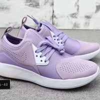 """Nike Lunarcharge Premium"" Women Sport Casual Fashion Running Shoes Sneakers"