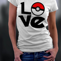 Pokemon Go Print T-Shirt  12174