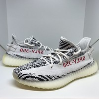 Come With Box Adidas Yeezy Boost 350 V2 Zebra Size 9 CP9654