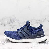 Adidas Ultra Boost Navy White Black Ub4.0 - Best Deal Online