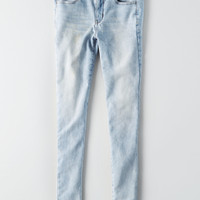 AEO Super Soft X4 Hi-Rise Jegging, Cloud Wash