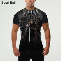 3D Game Of Thrones T Shirt