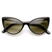 Elegant Womens 1950's Fashion Cat Eye Sunglasses 9462