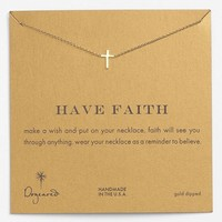 Dogeared 'Reminder - Faith' Boxed Pendant Necklace