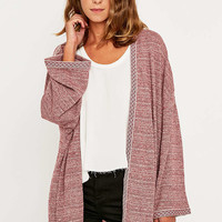 Staring at Stars Mix Media Cardigan - Urban Outfitters