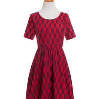 Paper Doll Dress Red