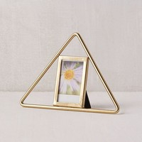 Metal Triangle Instax Mini Picture Frame | Urban Outfitters