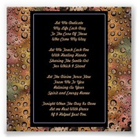 Massage Therapy Prayer Posters