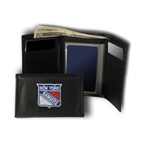New York Rangers NHL Embroidered Trifold Wallet
