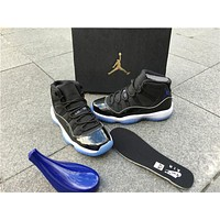 "Air Jordan 11 ""Space Jam"" Basketball Shoes 36-47"