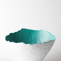 Color Burst Bowl - Aqua