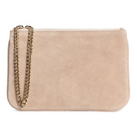 Suede Handbag with Chain - from H&M