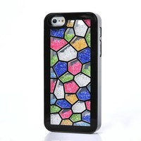Unique Irregular Polygon Hard Cover Case For Iphone 4/4s