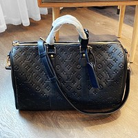 LV new limited edition travel bag-unisex travel bag Black