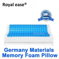 ROYAL EASE Comfort Sleep Cool Gel Pillow Hydrogel Memory Foam Pillow Anti Stiff Neck Pain Sleeping Cervical Spine Rehabilitation