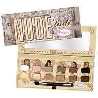 Pro Cosmetic eye shadow balm nude tude 12 colors eyeshadow Palette with Brush