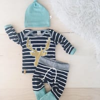 3pcs Baby Boy Girls Kids Clothes Sets Cartoon Minnie Newborn Infant Hat Rompers Outfit Clothing Set 3 6 9 12 18 Monthes