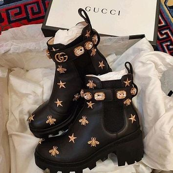 DIOR GG 6-inch Ankle Boots