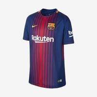 Barcelona 2017-18 Youth Home Jersey