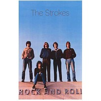 The Strokes Rock and Roll Poster 11x17