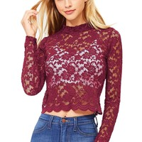 Mystical Lace Top